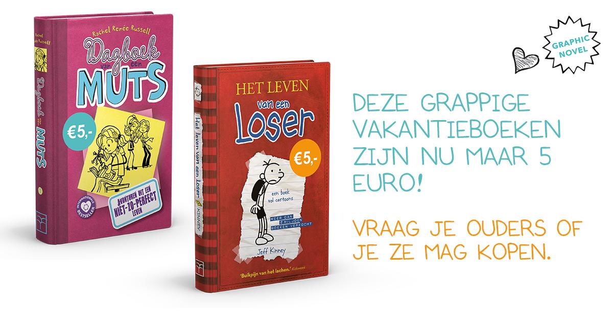 Het leven van een loser en dagboek van een muts nu voor 5 euro